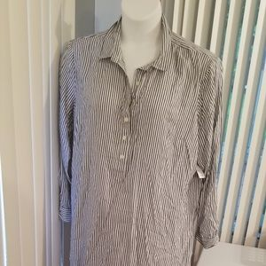 Old Navy Striped Long Top